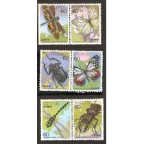 Japon Mariposas Libelulas Escarabajos Nuevas