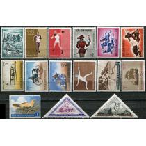 1608 San Marino Lotecito De 15 Sellos Mint N H De Los 70