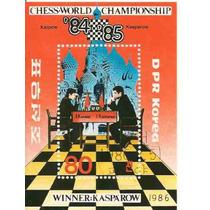 Ajedrez Campeonato Mundia Karpow Kasparow Lqe
