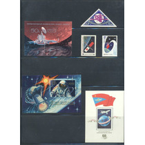 Tru2-rusia Nuevo Timbres Y 3 Hojas Recuerdo Tema Cosmos-