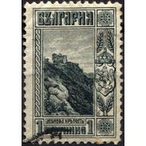 3027 Castillo Montaña Bulgaria Scott#89 1s Usado L H 1911