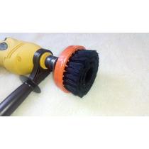 Cepillo Profesional Para Lavar Vestiduras Auto Para Taladro