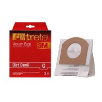 3m Filtrete Dirt Devil G Micro Alérgenos Vacío Bolsa 3 Pack