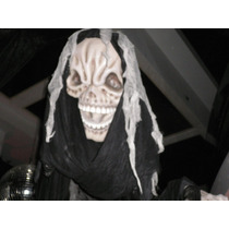 Fantasma De 2 Metros P/colgar Halloween Esqueleto Muerte Ok