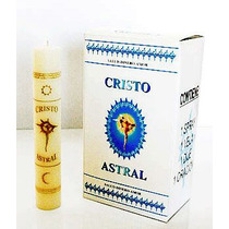 Poderoso Kit Del Cristo Astral Incluye Vela,dije,spray, Dije