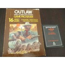 Atari 2600. Outlaw
