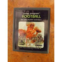Cassete De Atari 2600 Footbal