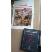 Game Program Combat Atari 2600 Con Manual