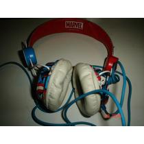 Marvel Comics Audifonos Capitan America Coloud