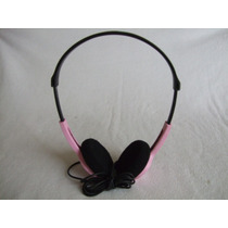 Audífonos Sony Mod. Mdr-222 Rosa Para Walkman