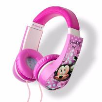 Audifonos Minnie Mouse Originales Disney Control De Volumen