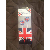 Audifonos Gran Bretaña Compatible Con Ipod / Iphone