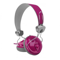 Audifonos Perfect Choice Pc-110934 Duo On-ear Rosa +c+