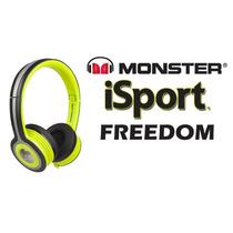 Audifonos Monster Isport Freedom Importacion Dhl Enviogratis