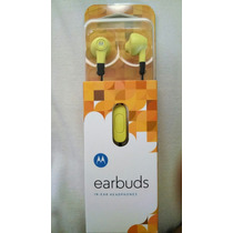 Audifonos Motorola Earbuds Originales