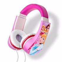 Audifonos Princesas Originales Disney Con Control De Volumen