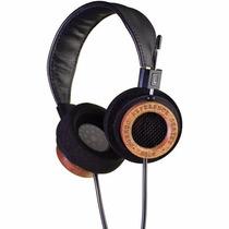 Audifonos Grado Rs2e Headphones Black And Mahogany 44mm Driv