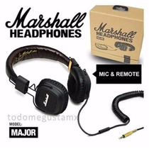 Audifonos Marshall Major Verdadera Joya A Precio De Remate