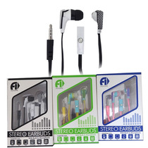 Audifonos Auriculares Con Microfono Cable Plano Iphone Mp3