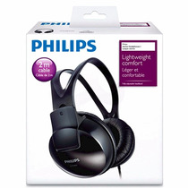 Audifonos Estereo Dj Philips Diadema Ajustable Cable Largo
