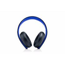 Audifono Playstation Gold Wireless Stereo Headset - Jet Blac
