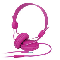 Audifonos Diadema Perfect Choice Pc-116011 Solids Rosa +c+