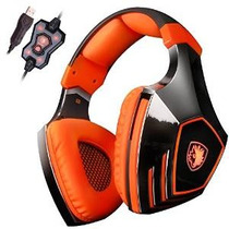 Sades A60 7.1 Surround Sound Stereo Auriculares De Pc Gaming