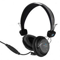 Audifonos Acteck Lvam-005 Hi-fi Con Microfono Negro +c+