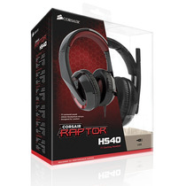 Headset Gaming Corsair Raptor Hs40 7.1 Noise Cancelling Usb