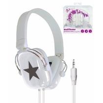 Audífonos Diadema Reforzados Estrella Pc Mp3 Celular Laptop