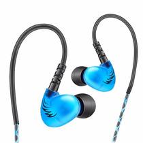 Audífonos In Ear Qkz Azul S6 - Para Monitor Personal