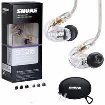Audifonos Shure Se215 In Ears Monitores Personales Nuevos