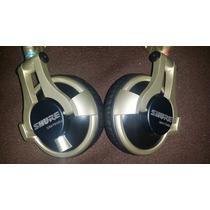 Shure Srh 750dj Originales Mejores Que Technics 1200 Y Beats