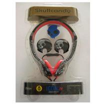 Audifono Skullcandy Icon 2 Over The Ear Calavera Con Micr