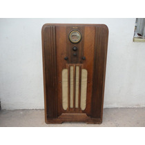 Antiguo Radio Philco De Bulbos Funcionando