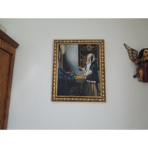 Reproducción Oleo Johannes Vermeer, Arte Barroco