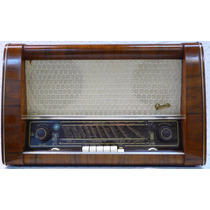 Radio Antiguo Alemán Graetz De 4 Bandas