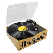 Tocadiscos Tornamesa Retro Vintage Pyle Home Radio Am Fm