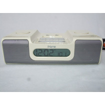 Ihome Ih5 Blanco Radio Bocina Iphone Ipod O Cualquier Mp3