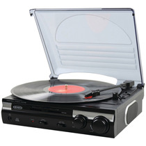 Tornamesa Jensen Jta-230 3 Speed Stereo Turntable With Buil