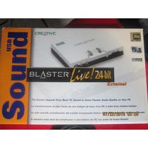 Creative Labs Sound Blaster Live 5.1 Mp3 Dj Rotel Sansui Kef
