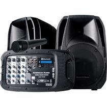 American Audio Els-pa10 Sistema Pa Con Bocinas Y Microfono