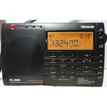 Radio Multibanda Tecsun Pl-660 Mw Lw Sw Fm Aerea