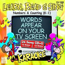 Números Y Contar Karaoke Cd + G