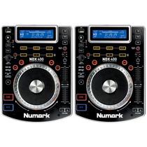 Numark Ndx400 Reproductor Mp3 Cd Usb Ndx-400 (par) (2)