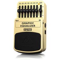 Ecualizador Gráfico Behringer Eq700 7 Bandas 100hza 6.4k Maa