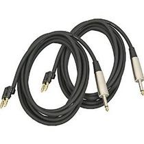 Del Músico Gear Plátano-1/4 Cable Altavoz 14 Calibre 10 2-