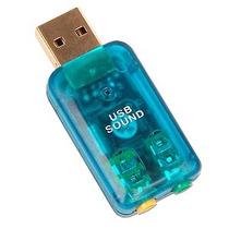 Tarjeta De Sonido Usb Audio 5.1 Canales Digital 3d