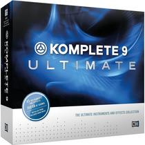Native Intruments Komplete 9 Ultimate Version Completa