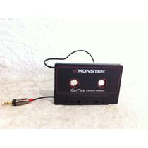 Cassette Adaptador Monster Icar Play 800 Para Tener Auxiliar